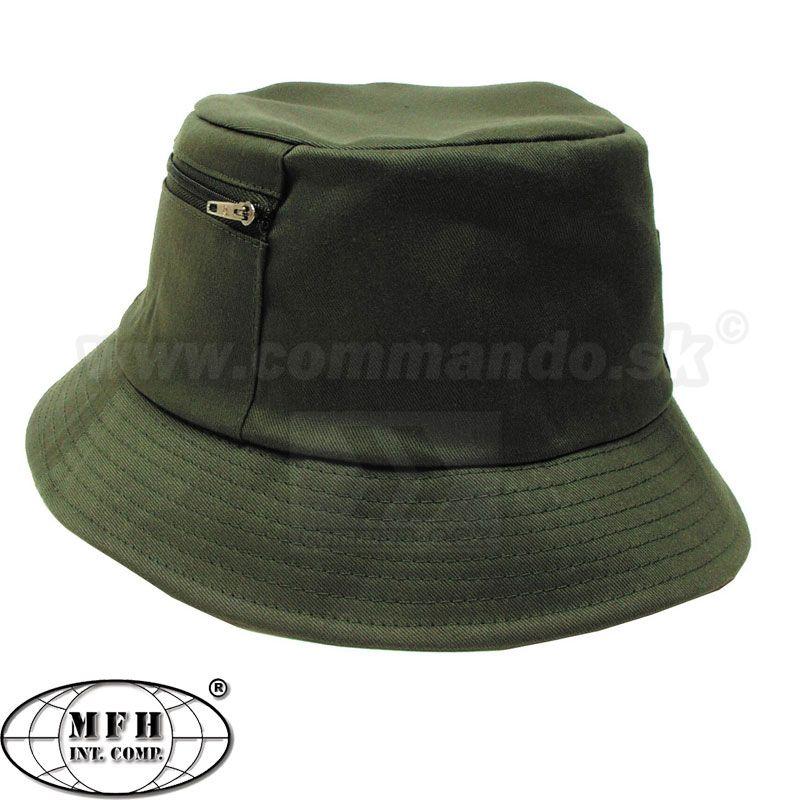 5de70be80 Rybársky klobúk - olivový | Commando.sk