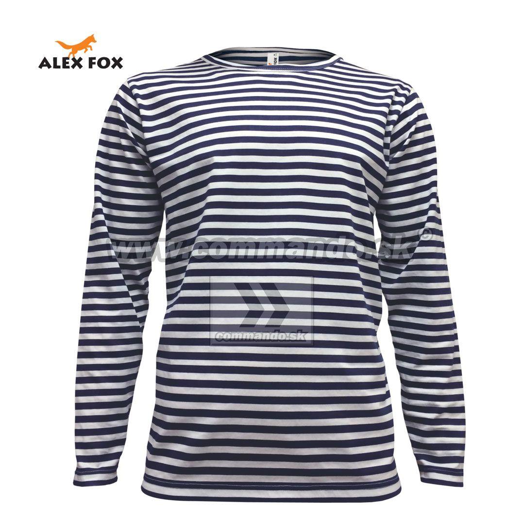 1dd5cb4ed Alex Fox Ruské námornícke tričko Gent William Russian Marine T-Shirt dlhý  rukáv