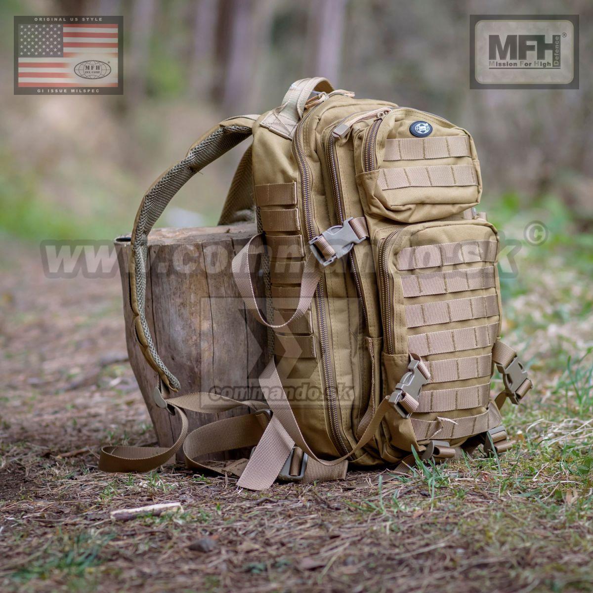 14449e187e US Batoh Assault 1 - coyote