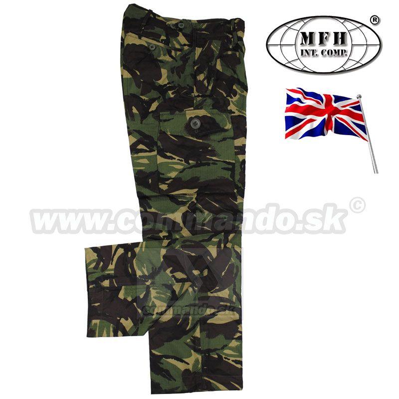 dc7eae04f Britské nohavice originál - DPM Camo Rip Stop | Commando.sk
