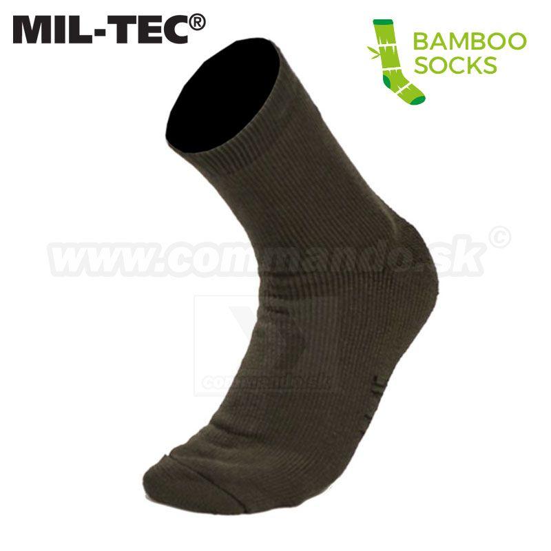 bfa396201fe OD NATURE BAMBOO MIL-TEC® bambusové Ponožky 2 páry v balení