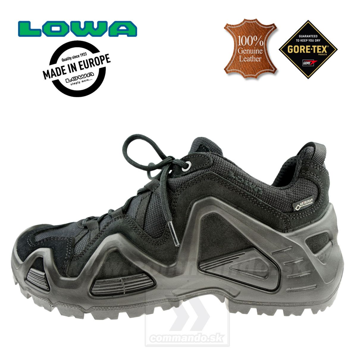 Taktická obuv LOWA ZEPHYR GTX Lo TF Black  abc6658f47