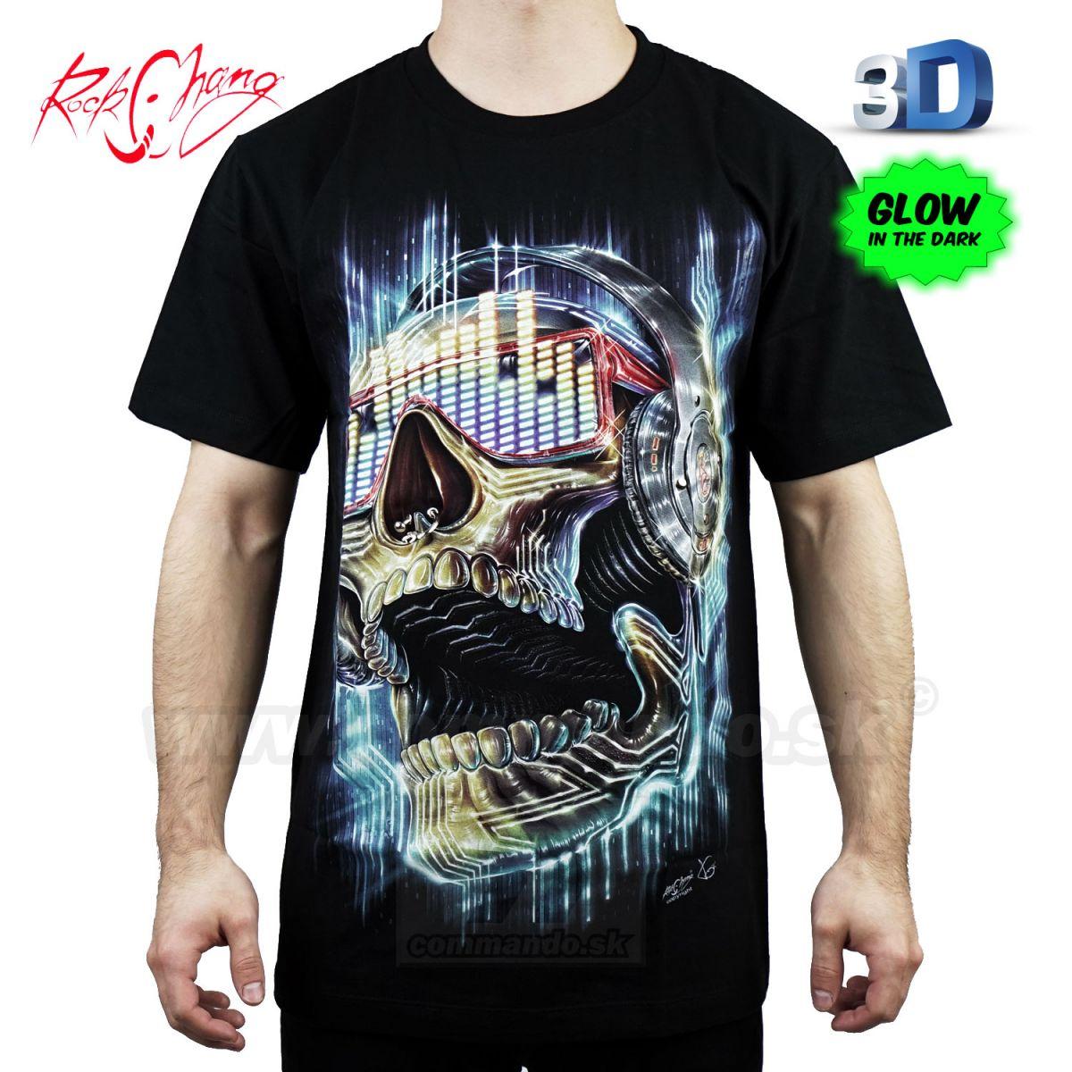 0866cac4f565 Tričko 3D Mr. DJ Rock Chang 3D85 T-Shirt