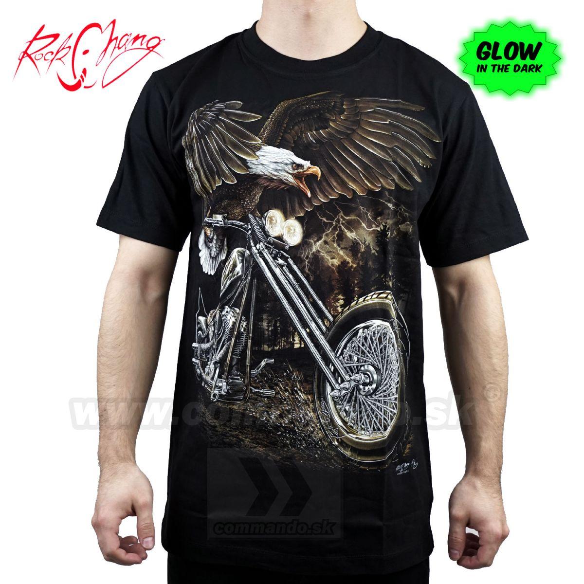d704da4cf886 Tričko Eagle Free Rider Rock Chang GR737 T-Shirt