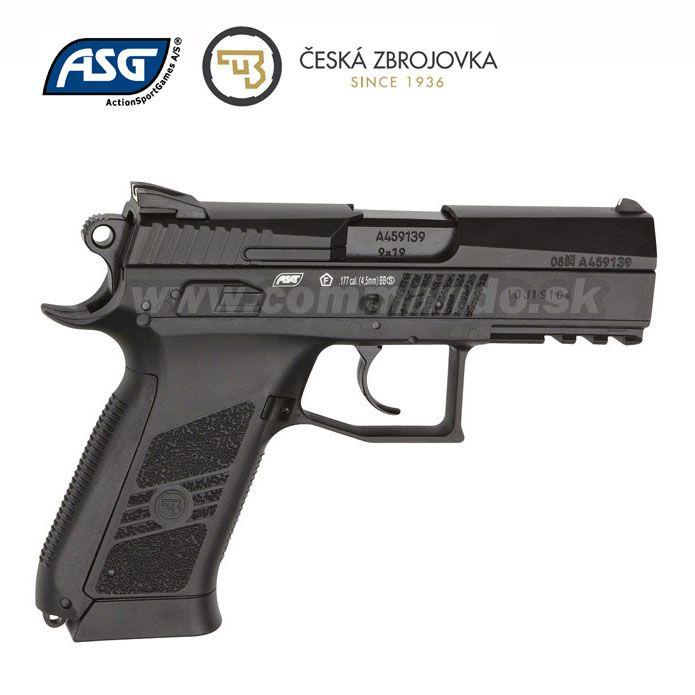 b7605a0ed Airgun Pistol Vzduchovka CZ 75 P-07 Duty GNB CO2 4,5mm | Commando.sk