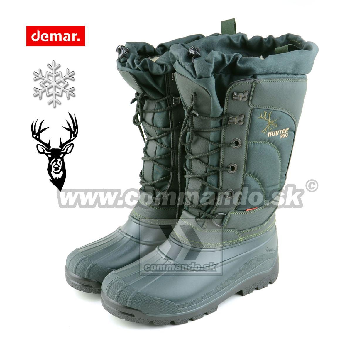 350897fd74628 Demar HUNTER PRO Boots zimná obuv | Commando.sk