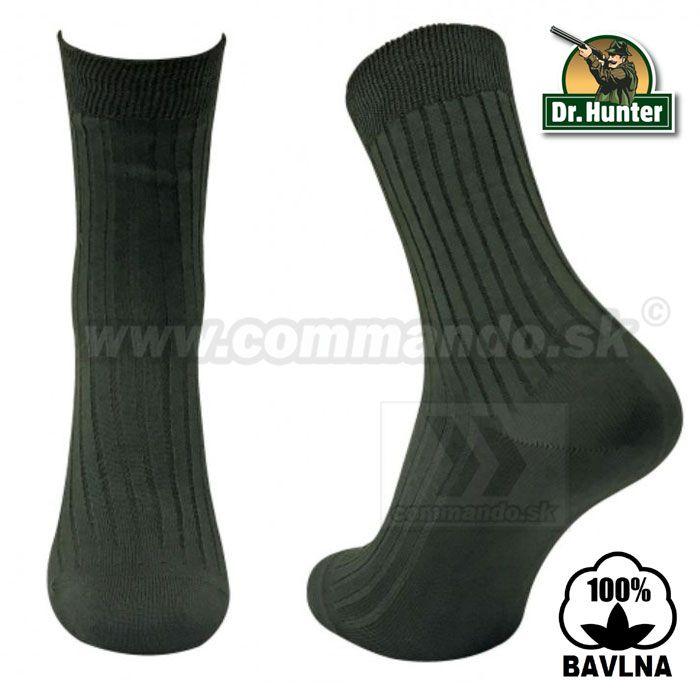 1407f4c1d19 Dr. Hunter Baumwolle Bavlnené Celoročné ponožky