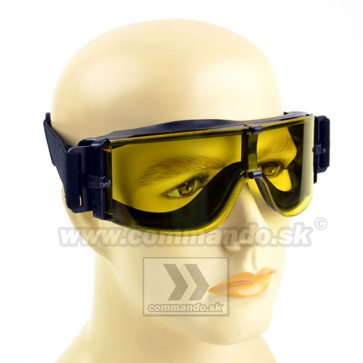 Taktické okuliare X800 Glasses Yellow žlté  e6908ec574e