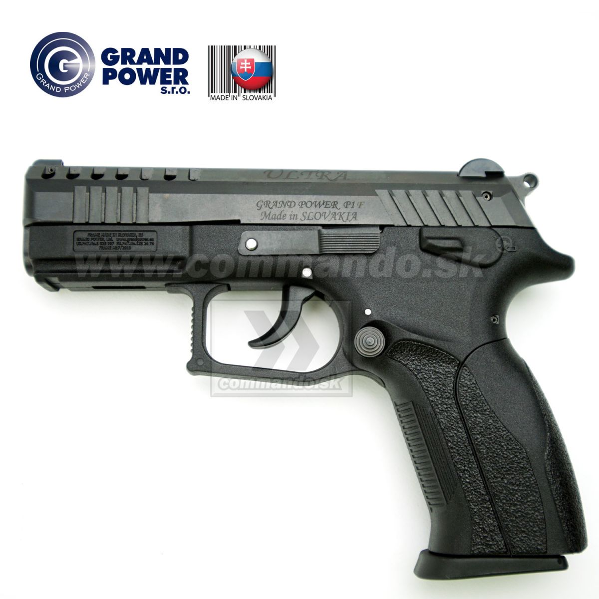 Grand Power P1F ULTRA MK7/1 Flobert Pistol 6mm | Commando sk