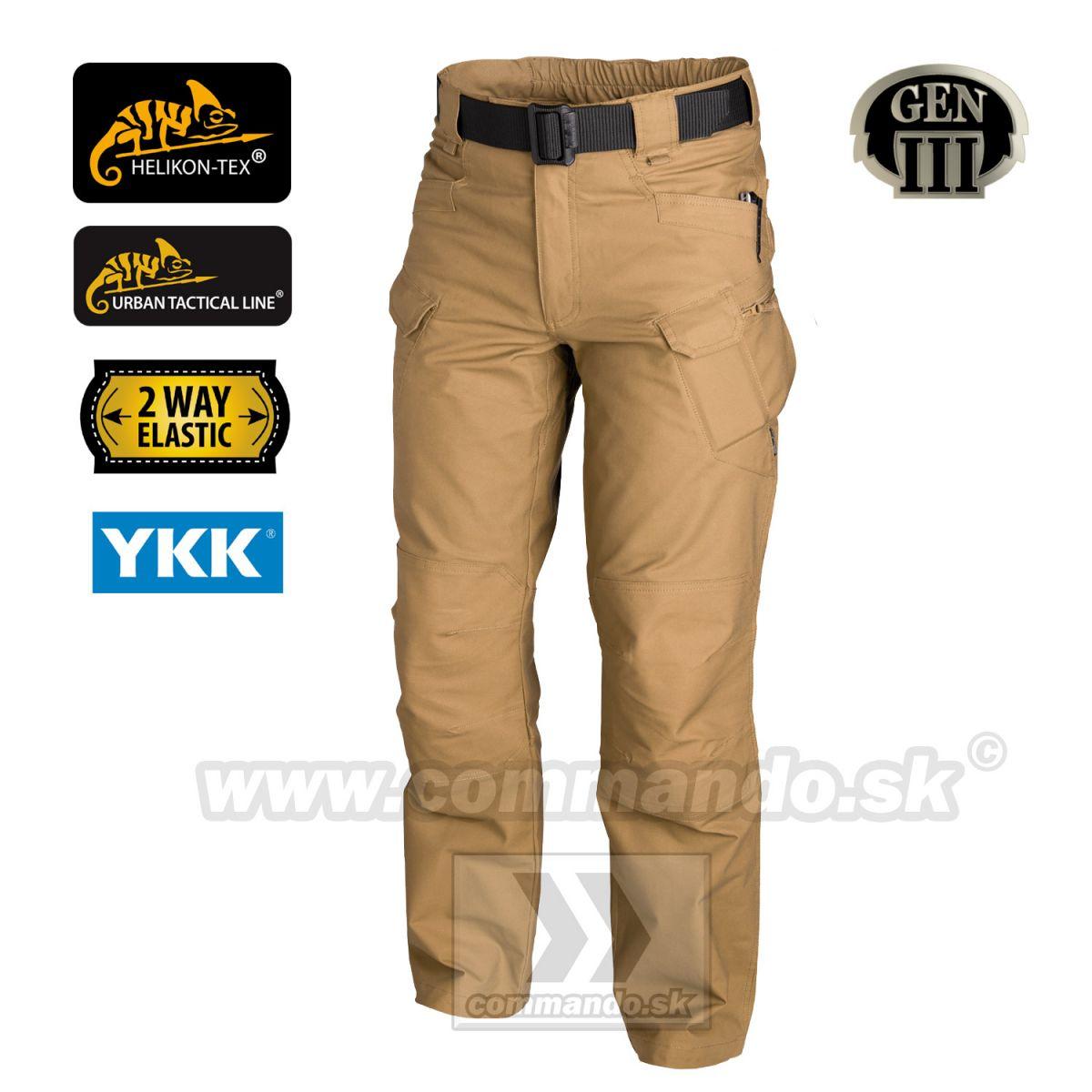 Helikon Tex Urban Tactical Pants Coyote UTL polycotton nohavice ... 6a924c9927