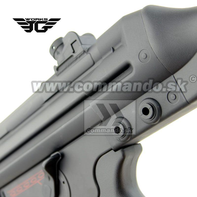 Airsoft Gun JG097 G3 T3 SAS G AEG 6mm | Commando sk