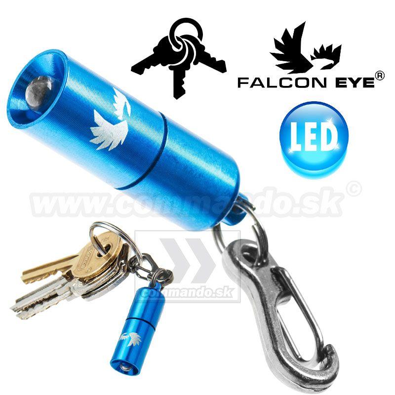 Prívesok svietidlo Sparky 01 Blue Falcon Eye Led kľúčenka  7b64318aca9