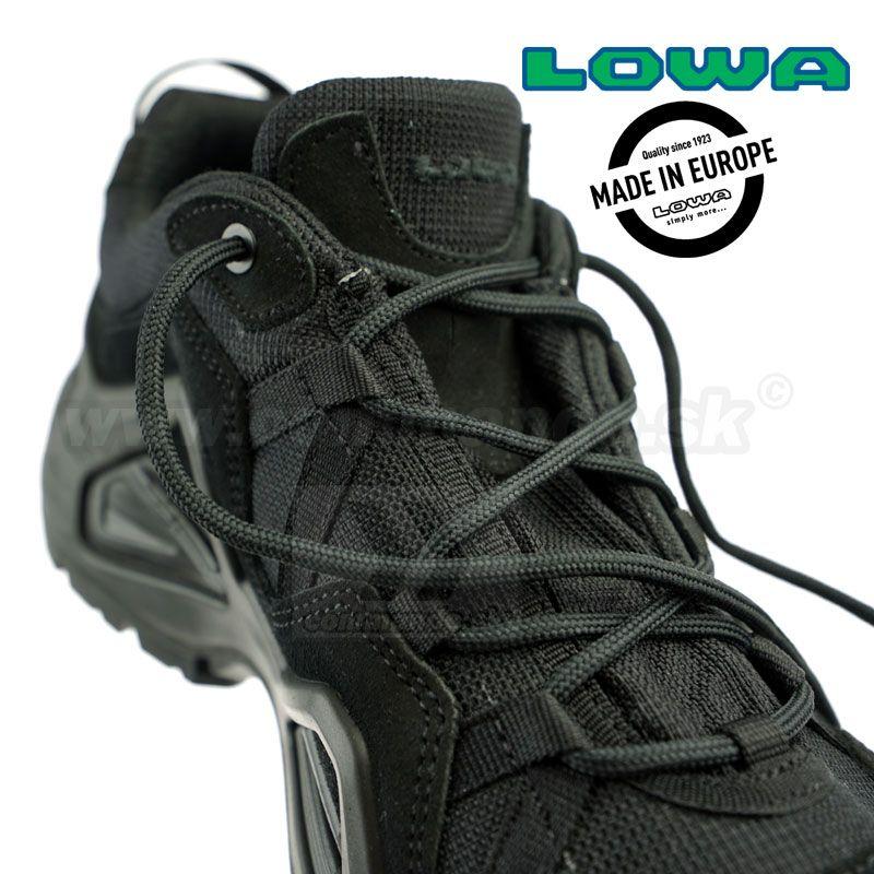 0c9a0e59e Taktická obuv LOWA ZEPHYR GTX Lo TF Black | Commando.sk