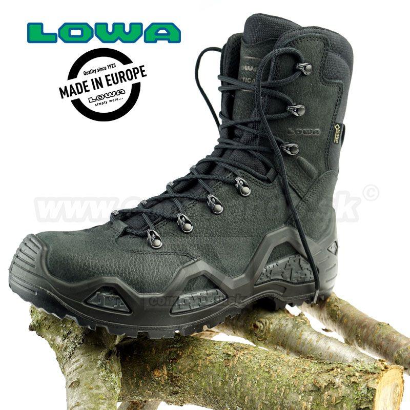 e79767fa9 Vojenská a taktická obuv LOWA Z-8N GTX Black | Commando.sk