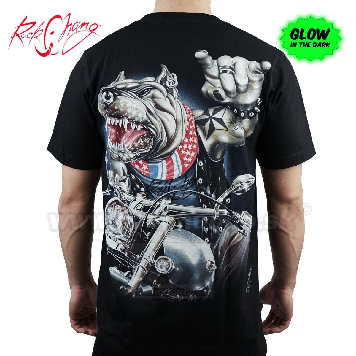 07c9a6ba36b2 Tričko Pitbull Free Rider Rock Chang GR762 T-Shirt