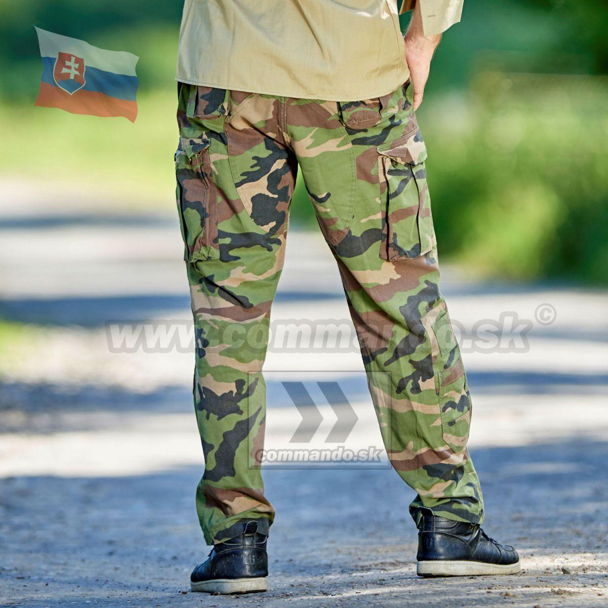 96c544c2791f Slovenské armádne nohavice vzor 97