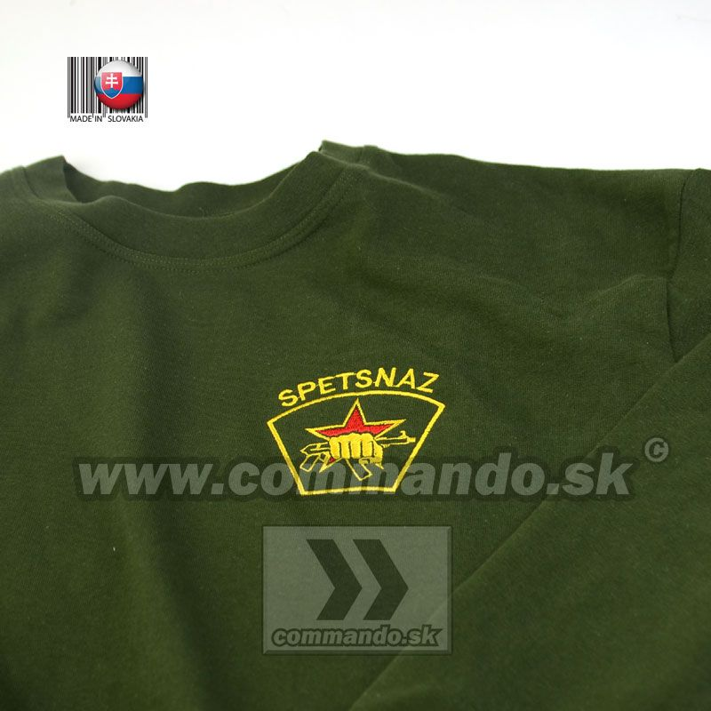 Spetsnaz Mikina Forest Green zelená  f254b1446a9