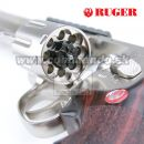 "Airsoftová pištoľ Revolver RUGER Super Hawk 8"" Nickel CO2 6mm, airsoft pistol"