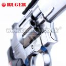 "Airsoft Revolver RUGER Super Hawk 6"" Nickel CO2 6mm"