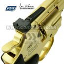 "Airgun Revolver Dan Wesson 2,5"" Gold GNB CO2 4,5mm"