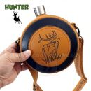 Likérka fľaša Hunter Deer 42oz 1,242 Litra Hip Flask