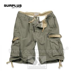 Bermudy Surplus Vintage Shorts Washed Olive