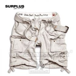 Bermudy Surplus Division Shorts Off White