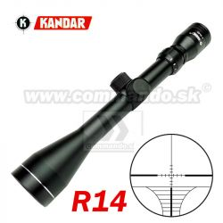Puškohľad KANDAR 3-9x40 R14 Ø25mm Scope