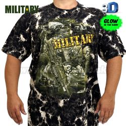 Tričko 3D Military Special Operation Survivors T-Shirt