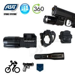 Multifunction LED svetlo 360 Tactical ASG Flashlite