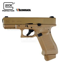 Airsoftová pištoľ Glock 19X Coyote CO2 6mm airsoft pistol