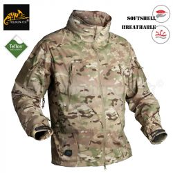 Helikon Tex Trooper Softshell Bunda nepremokavá camogrom