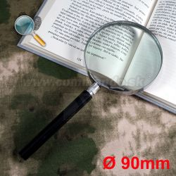 Lupa 90mm Glass Magnifying