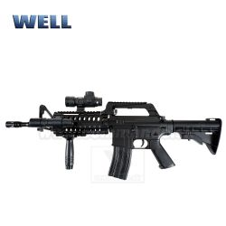 Airsoft WELL MR733 M16 RIS manual 6mm