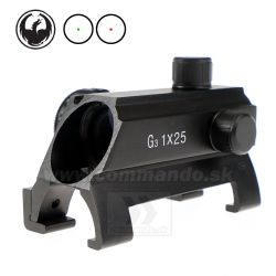 Kolimátor MP5  G3 1x25  Dot Sight Black