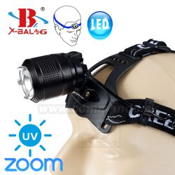 Čelovka X-Bal G High Power UV 2x18650 Headlamp