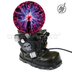 Plazmová lampa Army Boot Ø10cm výška 19cm Plasma Light