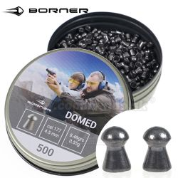 Diabolo Domed 4,5mm 500ks 0,55g Borner