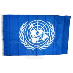 Zástava UNITED NATIONS vlajka 90x150 Fostex