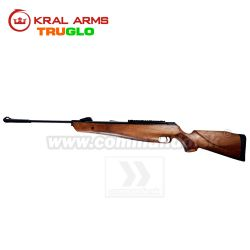 Vzduchovka KRAL ARMS N-07 Walnut Wood 4,5mm