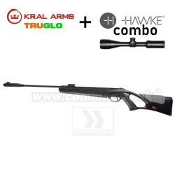 Vzduchovka KRAL ARMS N-06 S 4,5mm COMBO Hawke Vantage 3-9x40 AO