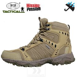 COMBAT Tactical Boots MFH Coyote Tan obuv