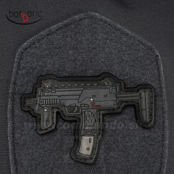 Gun Patch HK MP7 3D nášivka PVC