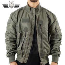 US Tactical Pilot Jacket zelená Olive Green