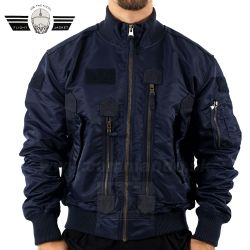 US Tactical Pilot Jacket modrá Dark Blue