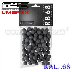 Strelivo pre T4E HDS 68 RB kal. .68 PracSeries Rubber Balls