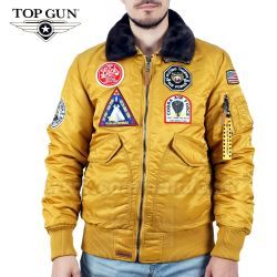 TOP GUN Pilot Jacket Type CWU-45 Gold Yellow