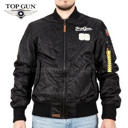 TOP GUN Pilot Jacket Type TOMCAT Black