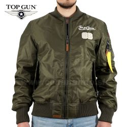 TOP GUN Pilot Jacket Type TOMCAT Oliv