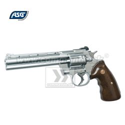 Airsoft Revolver Zastava R-357 GNB Chrome 6mm